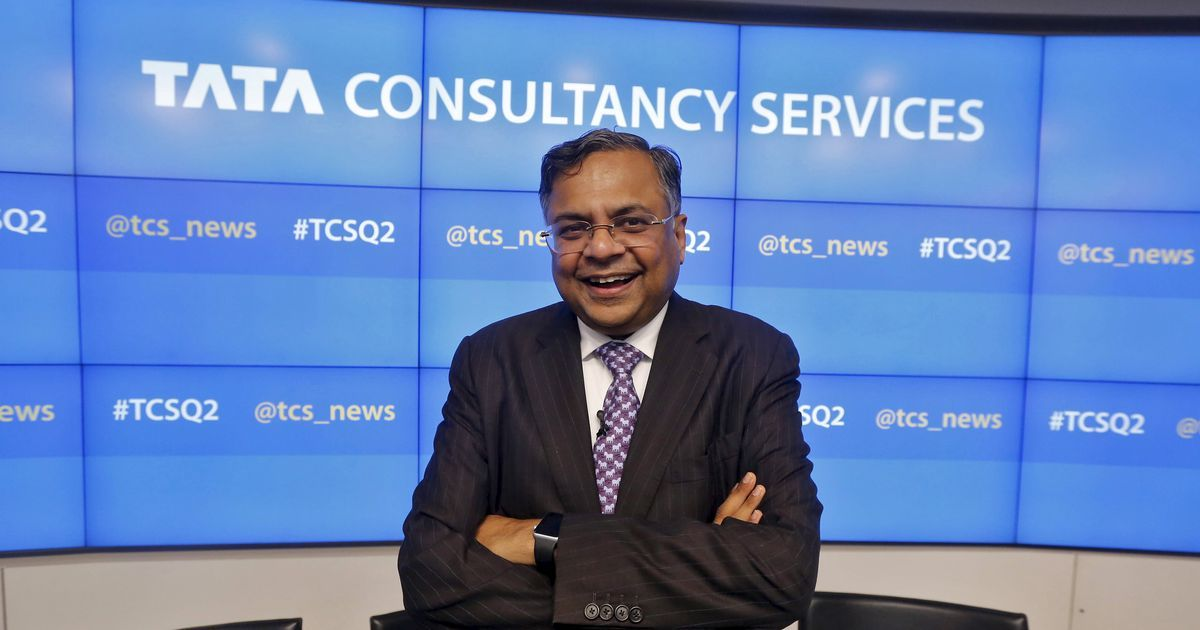 As N Chandrasekaran gets ready to take charge, TCS approves share buyback worth Rs 16,000 crore