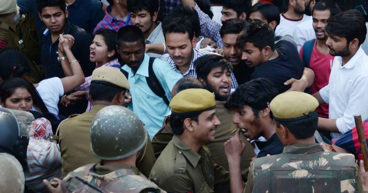 Ramjas protests: Delhi police agent of BJP & ABVP, says Kejriwal