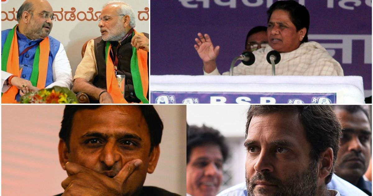 UP: BJP wins 62 seats to deflate mahagathbandhan's ambitions, Sonia Gandhi is only Congress MP