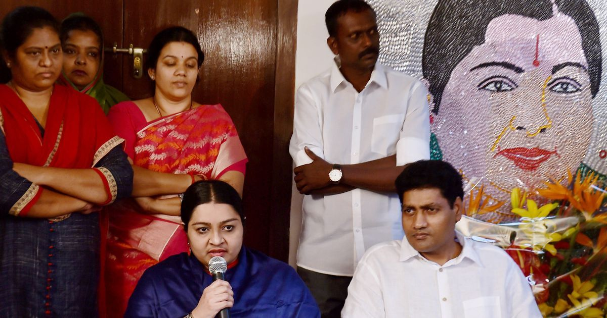 Tamil Nadu: Deepa Jayakumar's husband floats new party