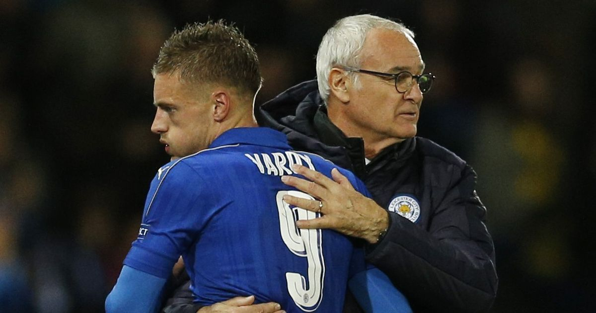 Leicester's Jamie Vardy received 'death threats' after Claudio Ranieri sacking