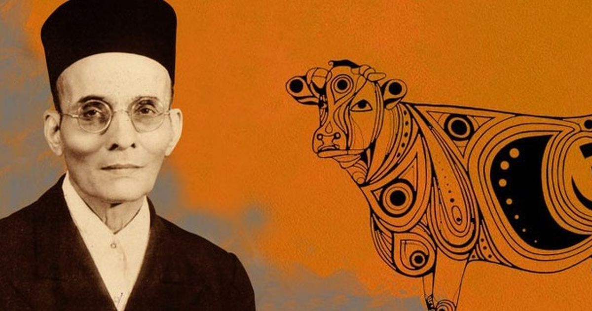 Hindutva cannot sustain itself on a cow's legs, said VD Savarkar, points out a new biography