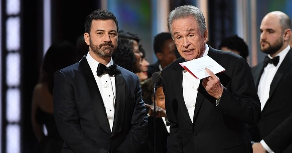 Oscars mix-up: Overseer PricewaterhouseCoopers apologises for Best Picture blunder