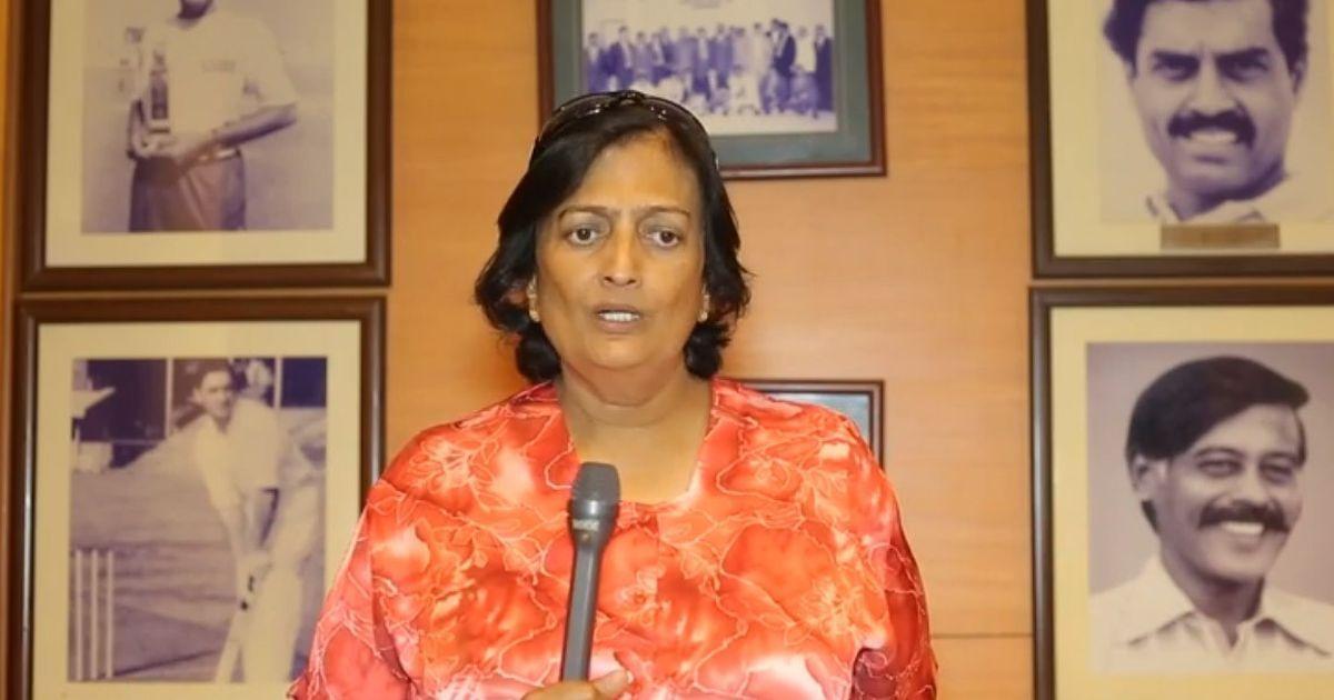 Shantha Rangaswamy, Indian cricket's first woman, finally gets her due