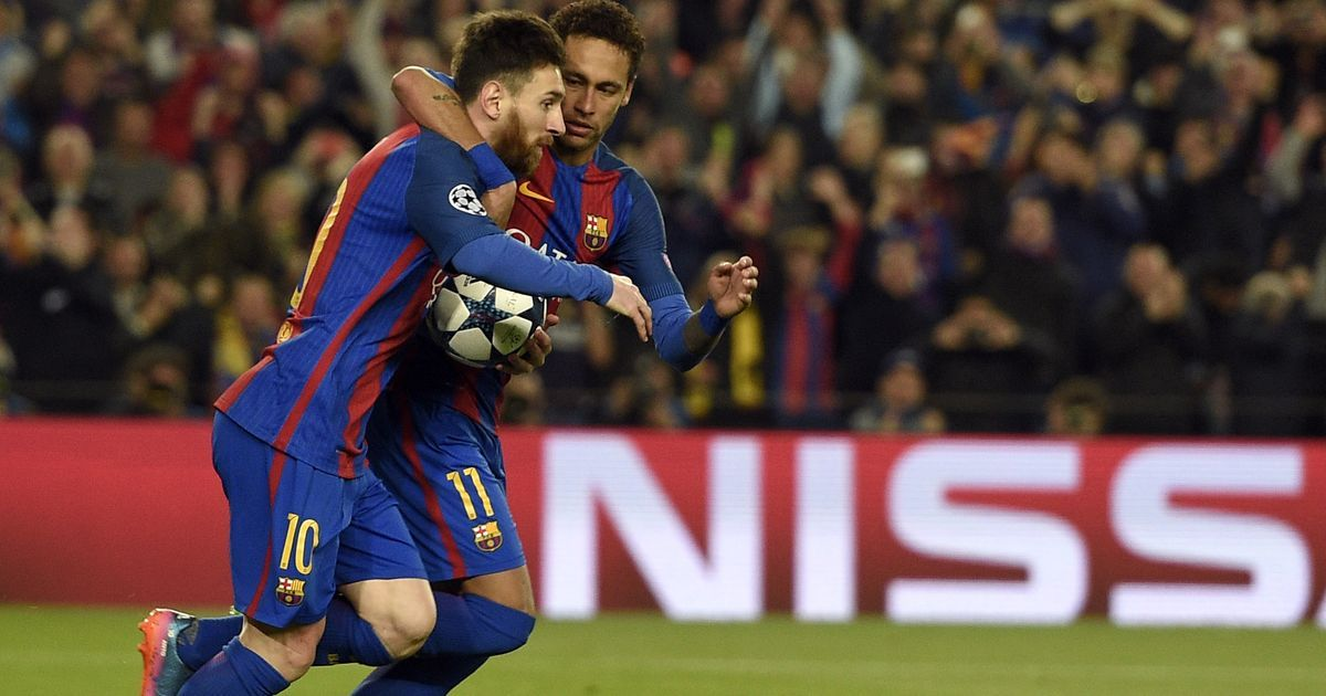 At long last, Neymar has stepped out of Lionel Messi's giant shadow at Barcelona
