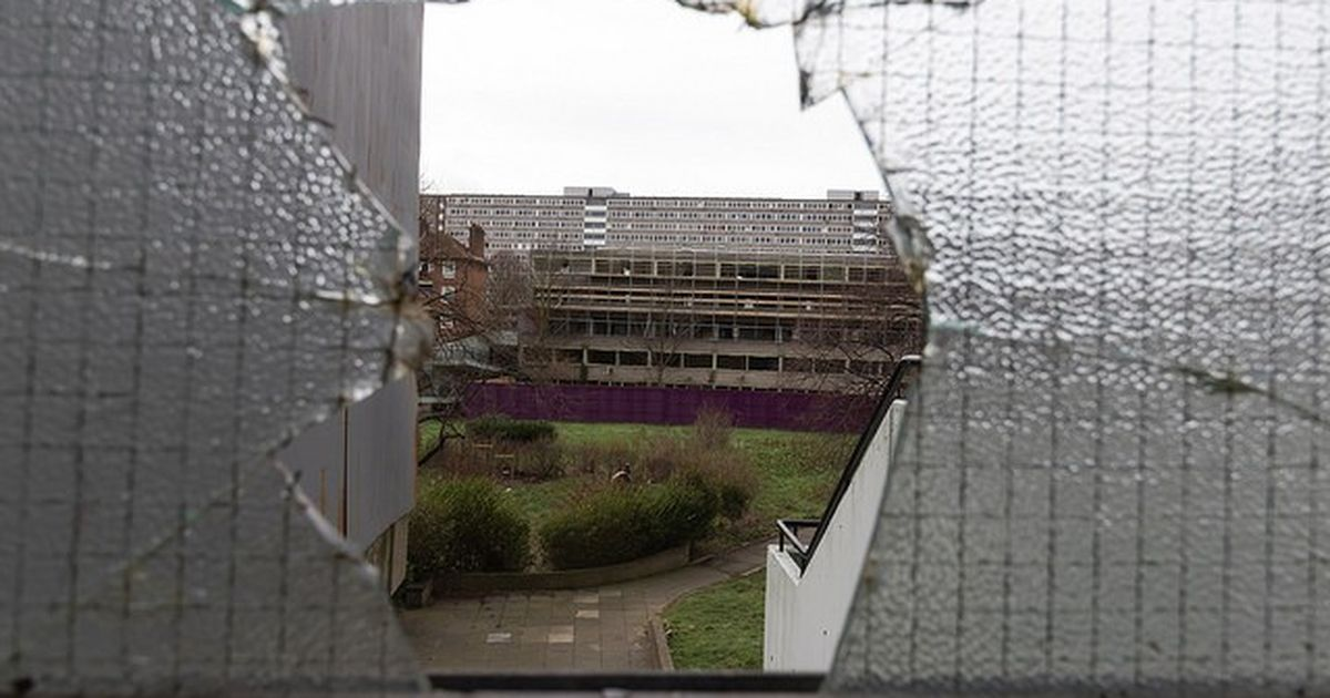 In the London towers marked for demolition and wiped from the map, residents fight to stay on