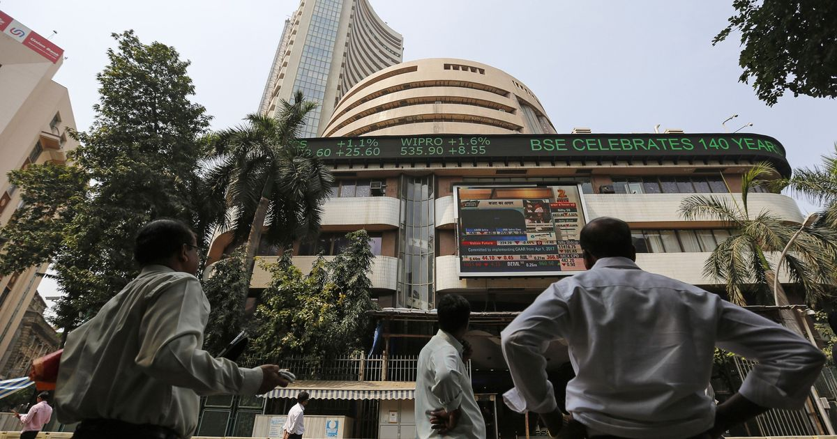Sensex rises over 300 points, rupee closes at a 10-week high