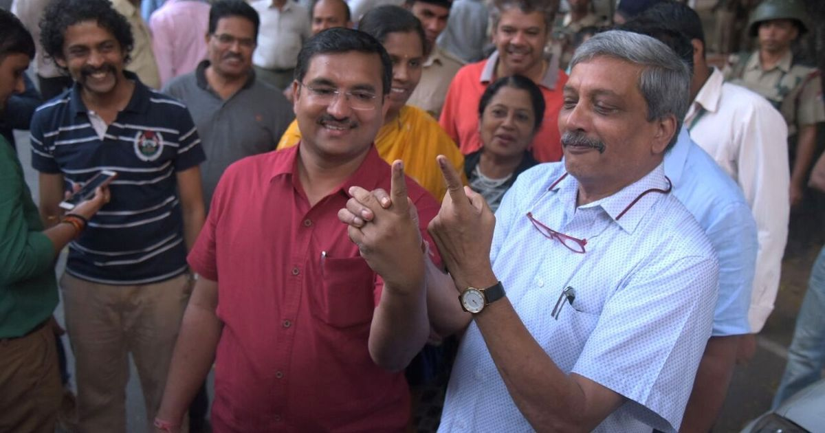Image result for bjp forms goa government