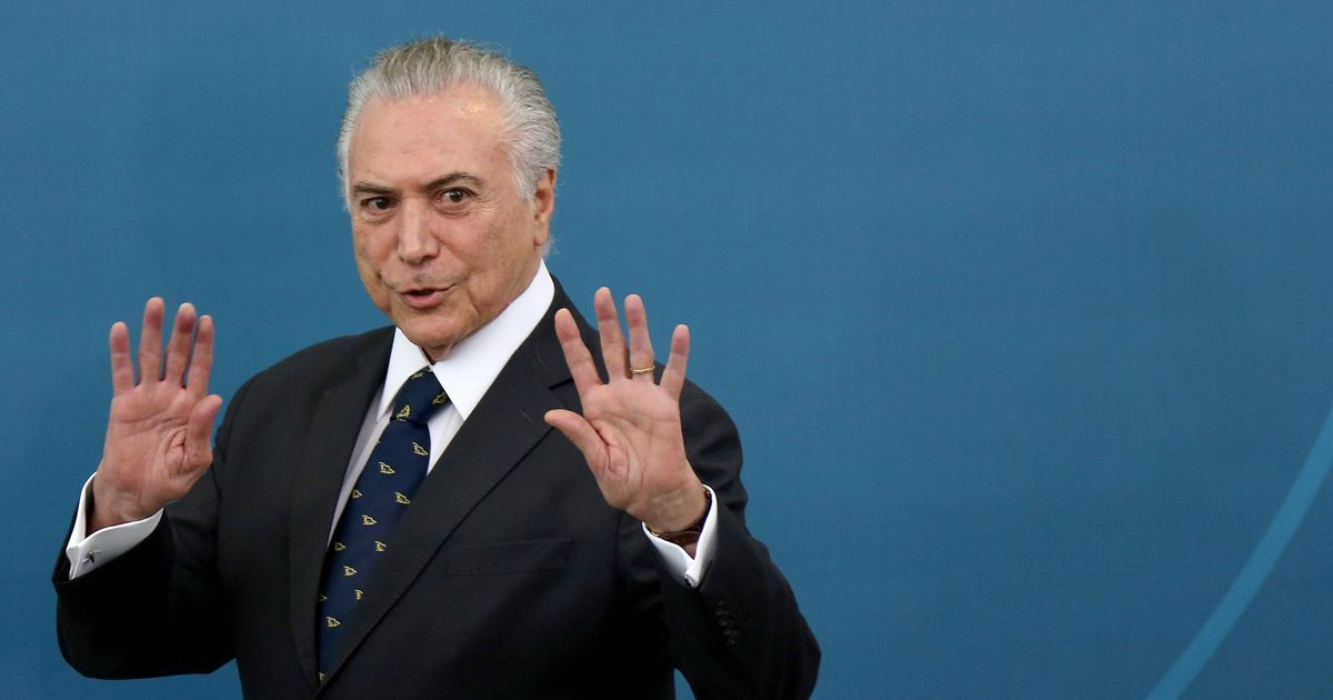 Fresh graft charges leveled against President Temer