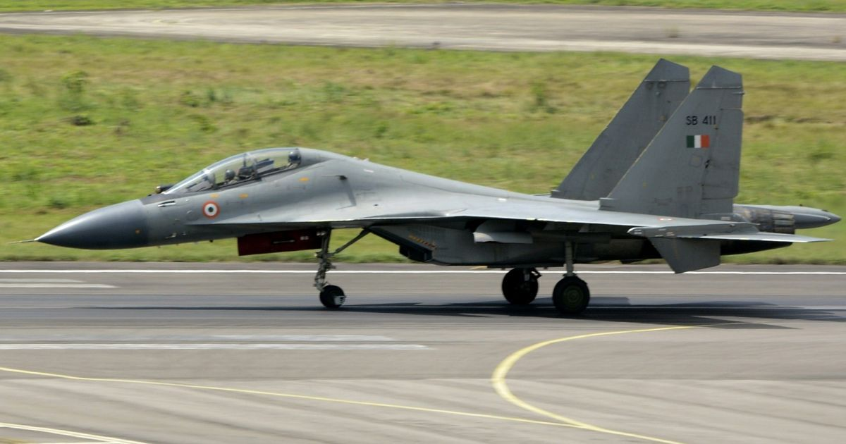 IAF Sukhoi-30 aircraft crashes in Barmer, pilots safe