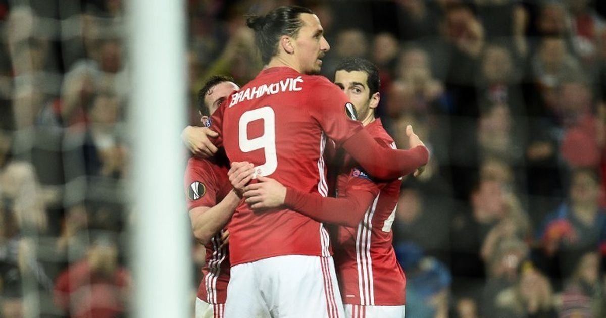 Europa League Manchester United overcome Rostov by solitary goal to qualify for last eight
