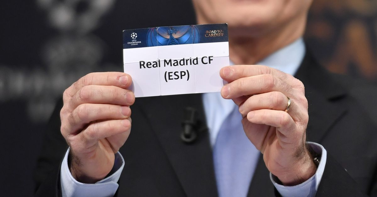 Image result for Real Madrid champions league draws