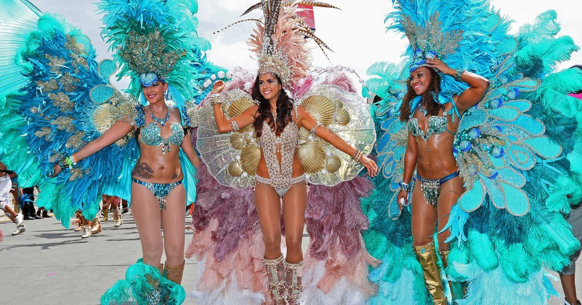 Trinidad and tobago carnival happens