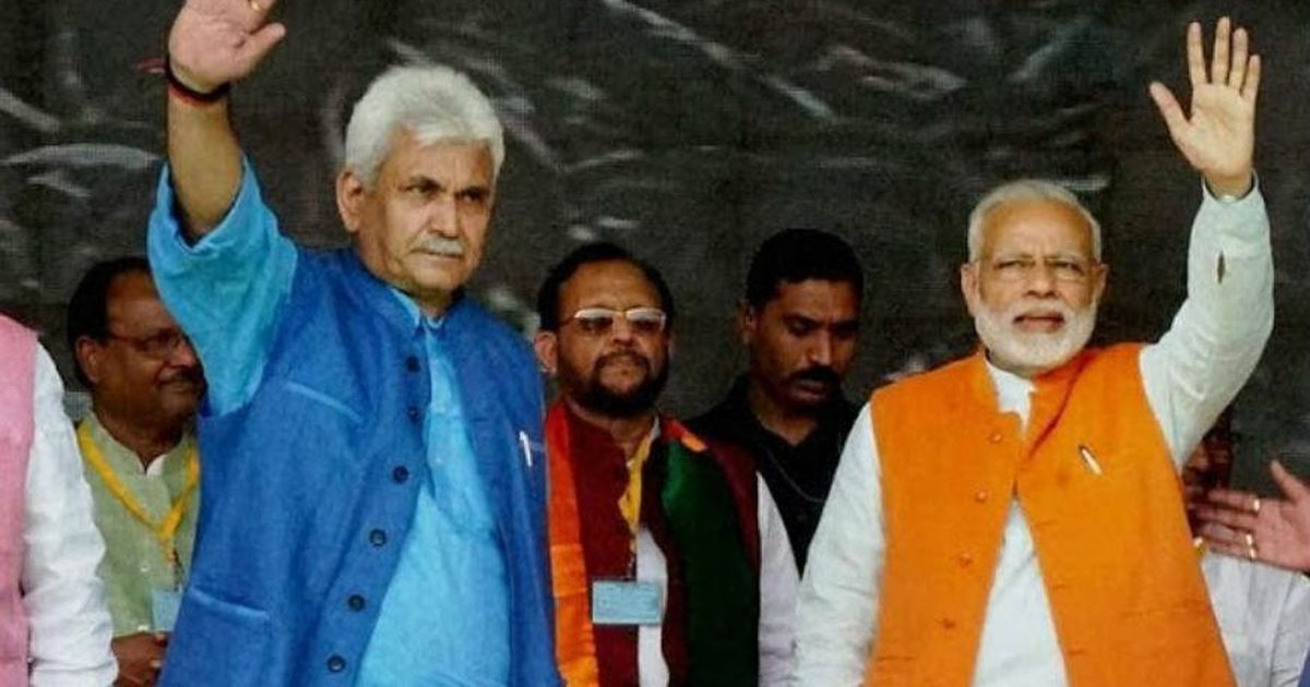 With Manoj Sinha, a career politician returns to the helm of the administration in Jammu and Kashmir