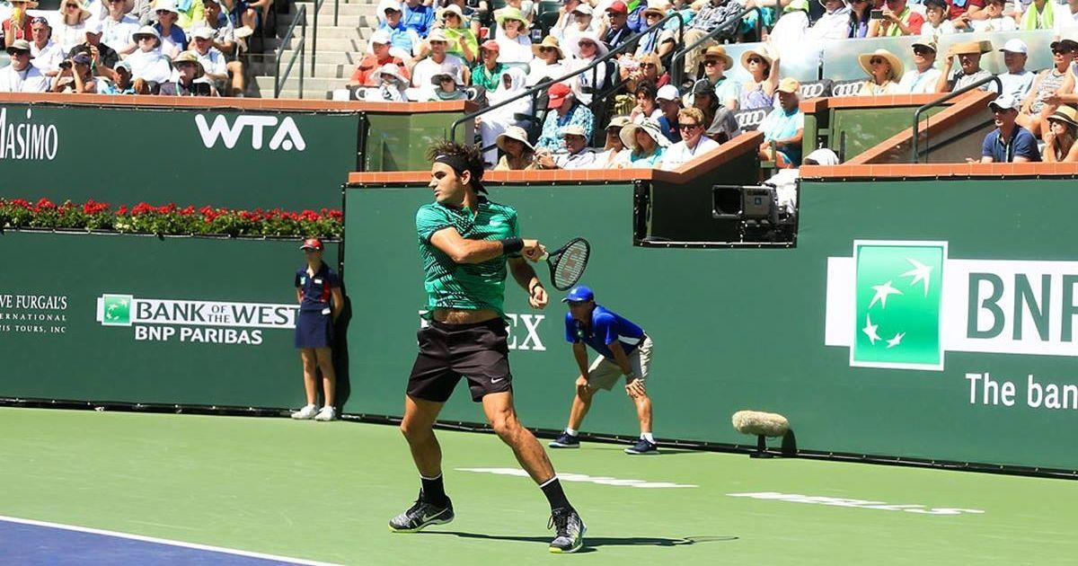 Roger Federer wins ATP Indian Wells Masters title