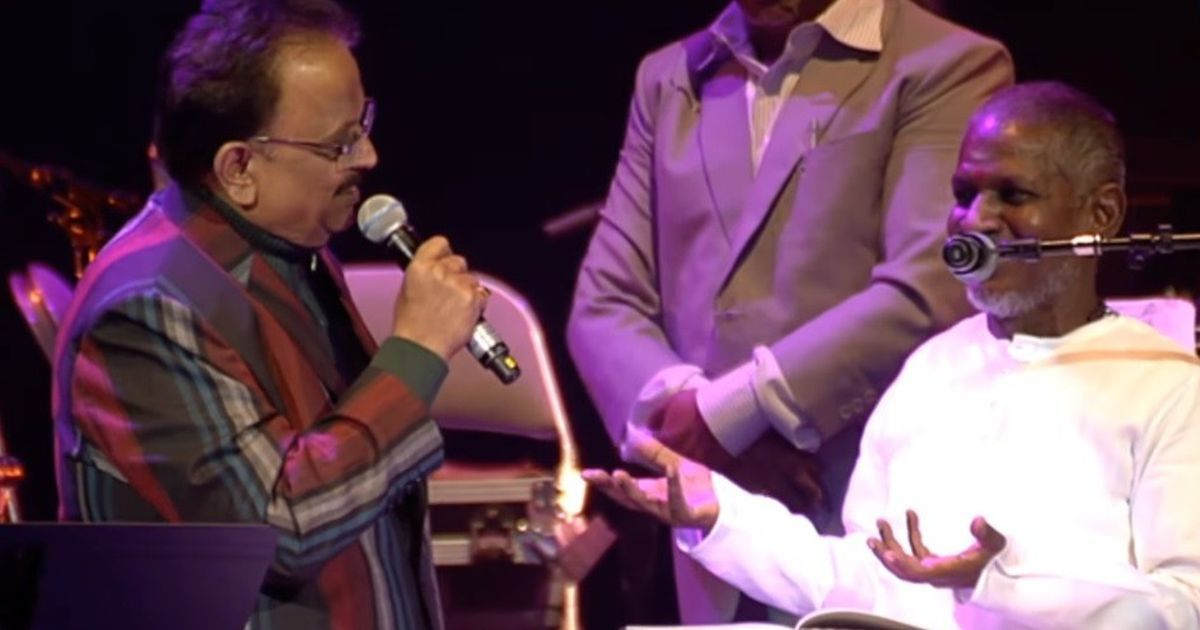 Music legend Ilaiyaraaja sends legal notice to SP Balasubrahmanyam for singing his songs at concerts