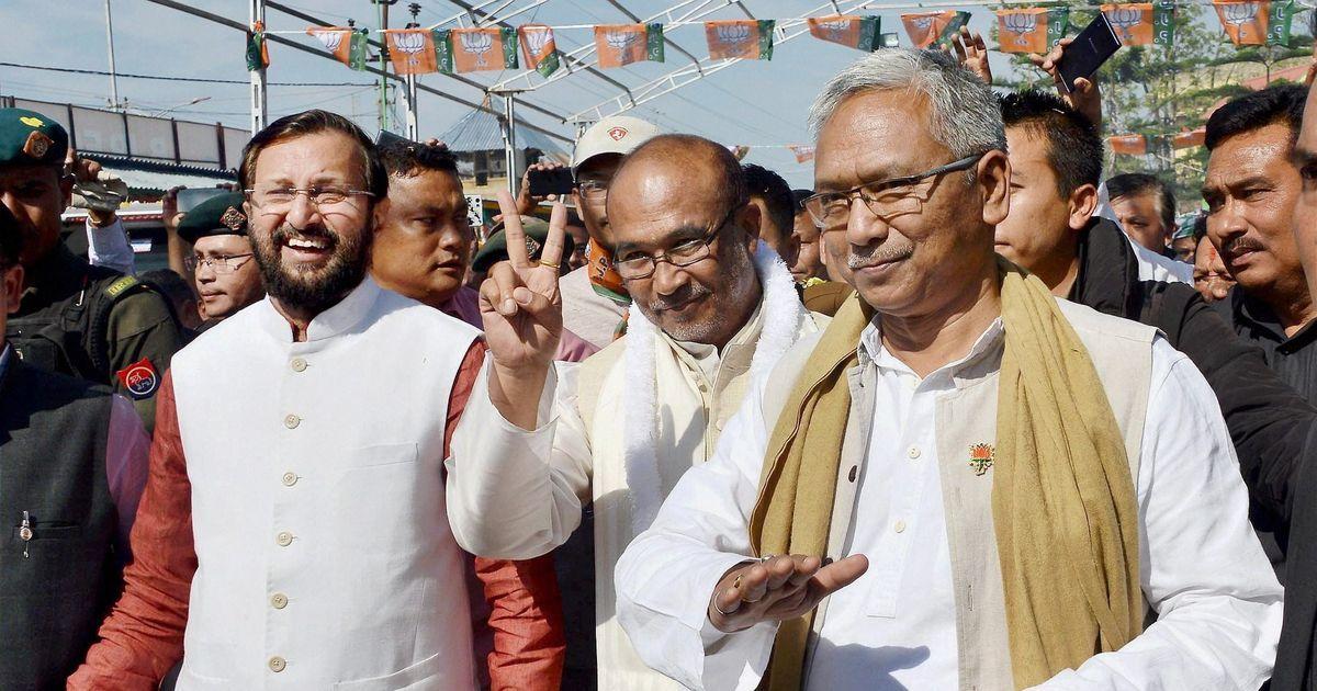 मणिपुर की पहली भाजपा सरकार ने विश्वास मत हासिल किया