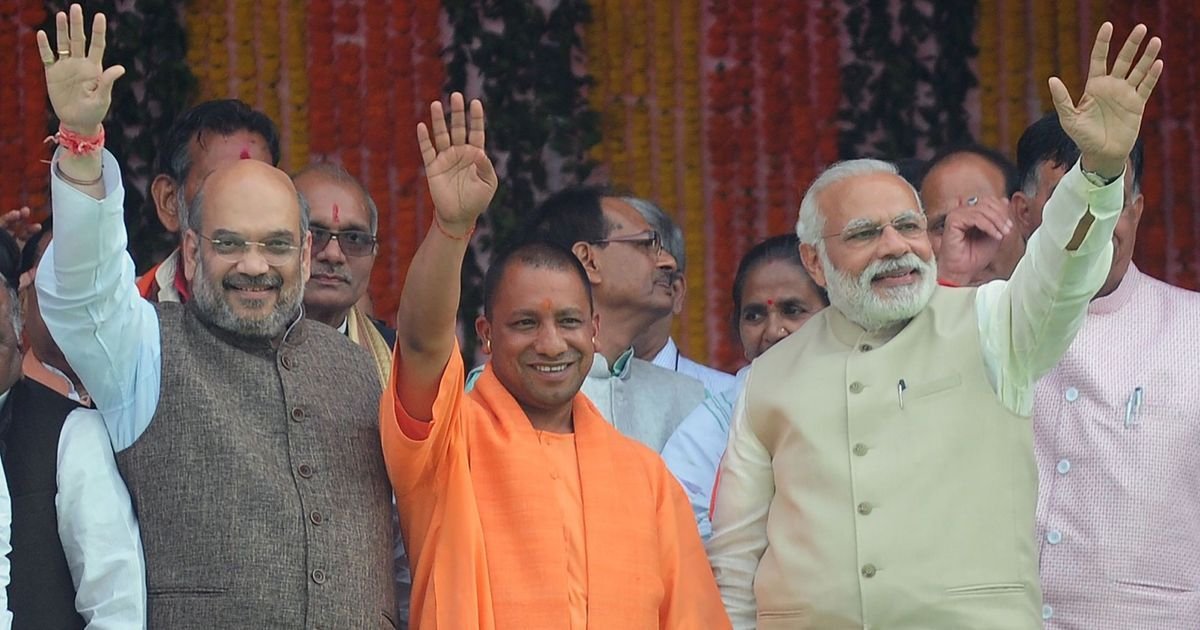 Yogi Adityanath is as much a creation of the so-called secular parties as of the Sangh