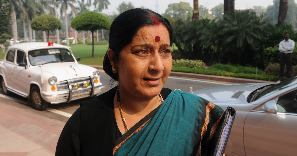 Oppn to move privilege motion against Sushma Swaraj