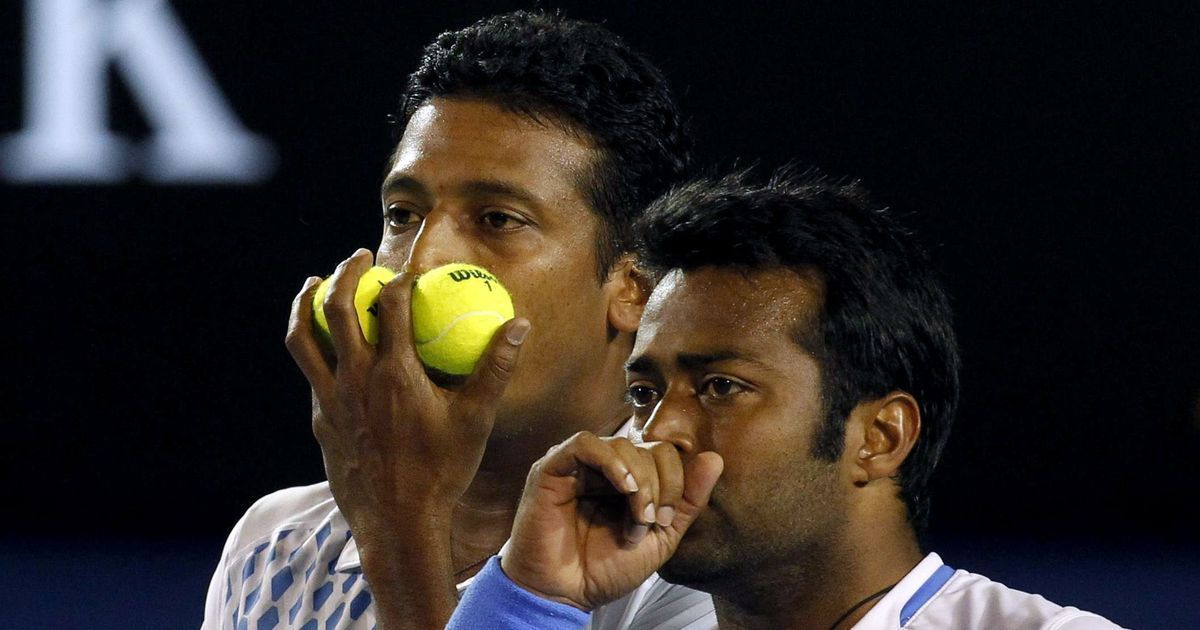 Watch: Leander Paes practices no-look volley with a frying pan, gets a response from Mahesh Bhupathi