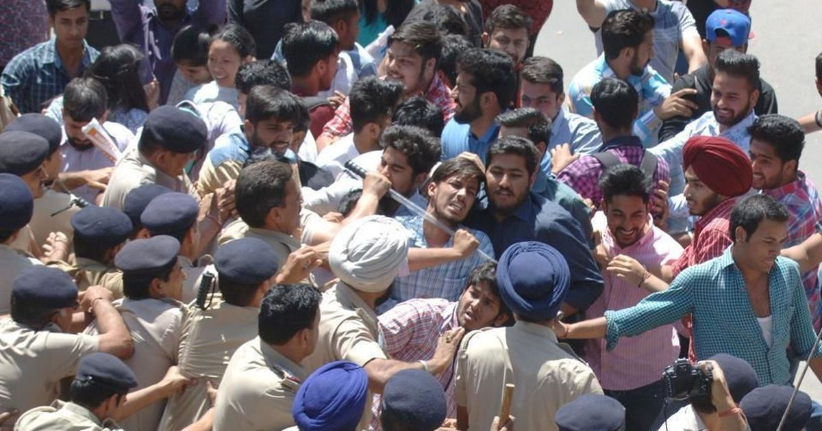 Panjab University sought sedition charges against students protesting fee hike