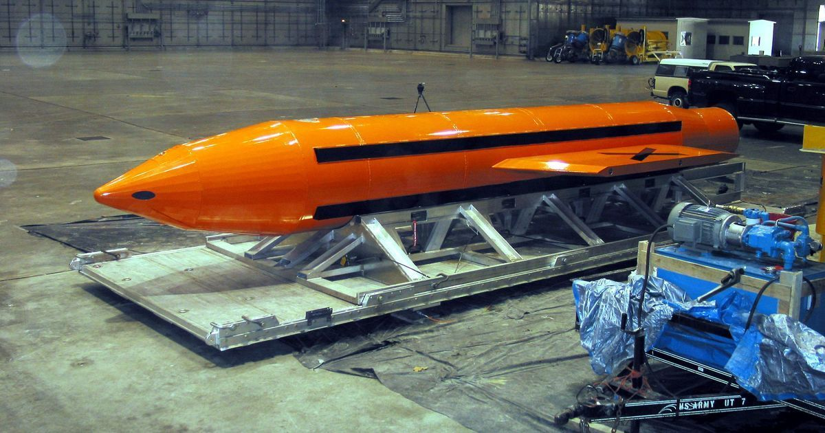 US drops 'mother of all bombs' in Afghanistan, claims it was targeting Islamic State fighters