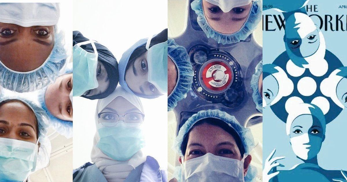 Life imitates art: Women surgeons are recreating a magazine cover to challenge stereotypes