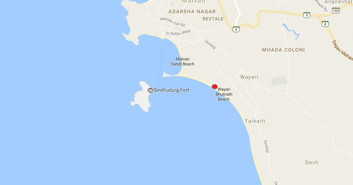 Eight college students drown in sea