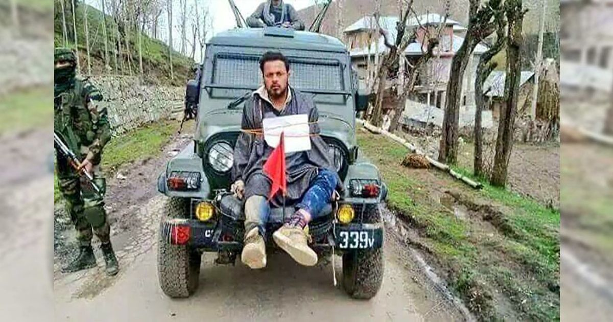 The Daily Fix: In Kashmir, upholding the law should separate soldier from militant