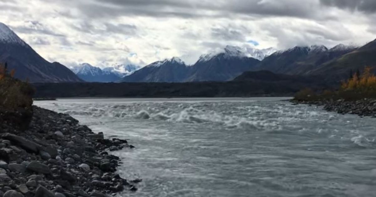 Climate change: Melting glacier leads to disappearance of Canadian river in four days
