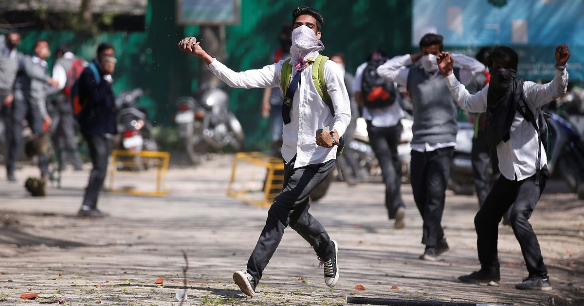 Why Kashmir's students are facing off against the security forces