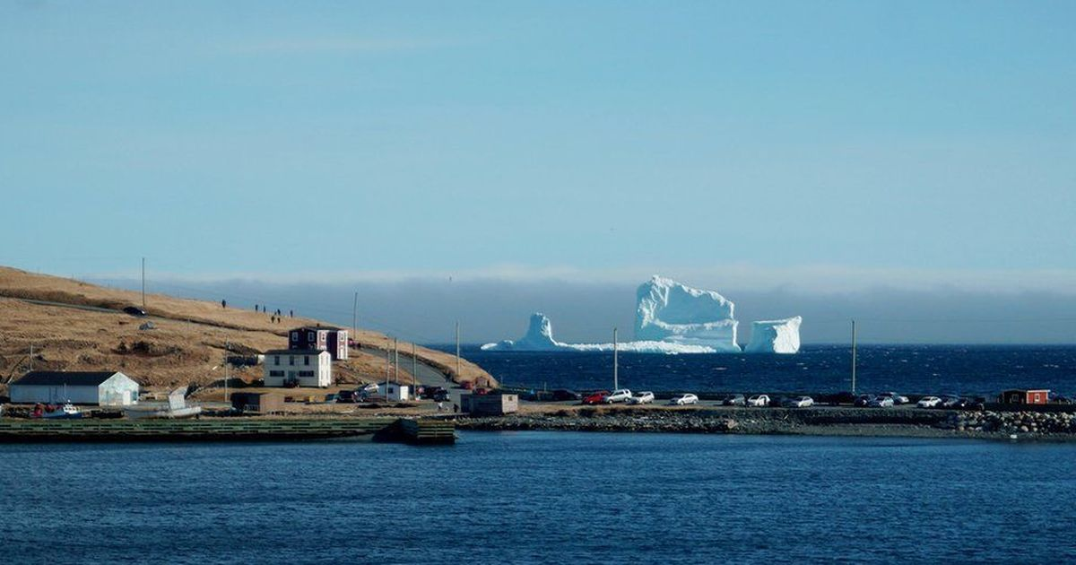 Giant iceberg pays visit to Canadian town of Ferryland