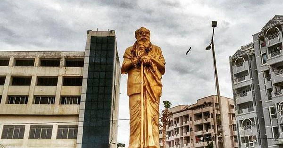 Statues vandalised: Tamil Nadu BJP expels party worker arrested for damaging Periyar's bust