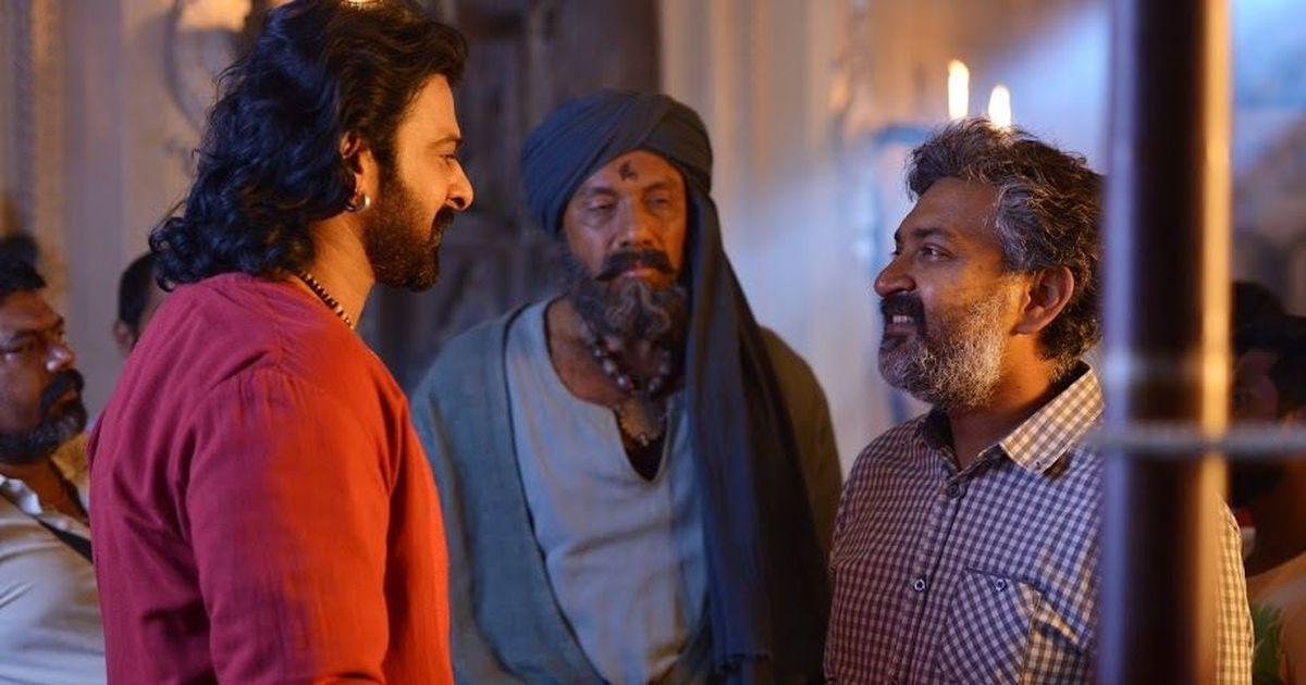 Kattappa killed Baahubali. He apologises to  ensure that he doesn't kill the sequel too