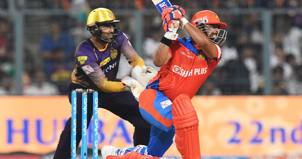 Suresh Raina's blazing 84 takes Gujarat Lions to four-wicket win over Kolkata Knight Riders