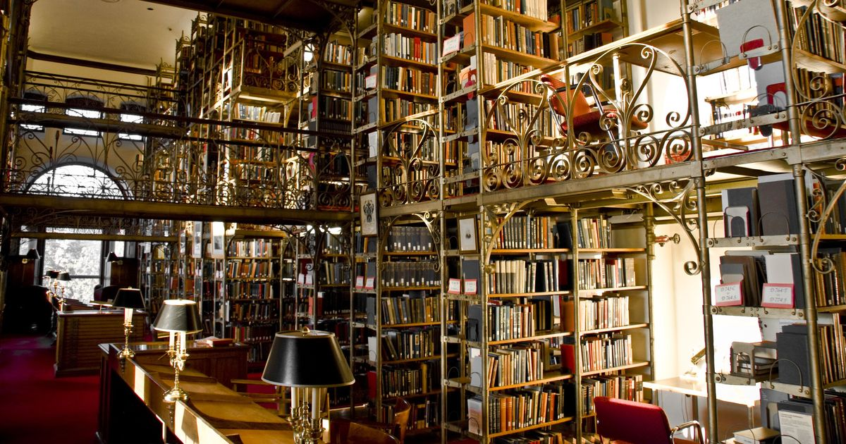 If these libraries do not exist in the real world yet, they should