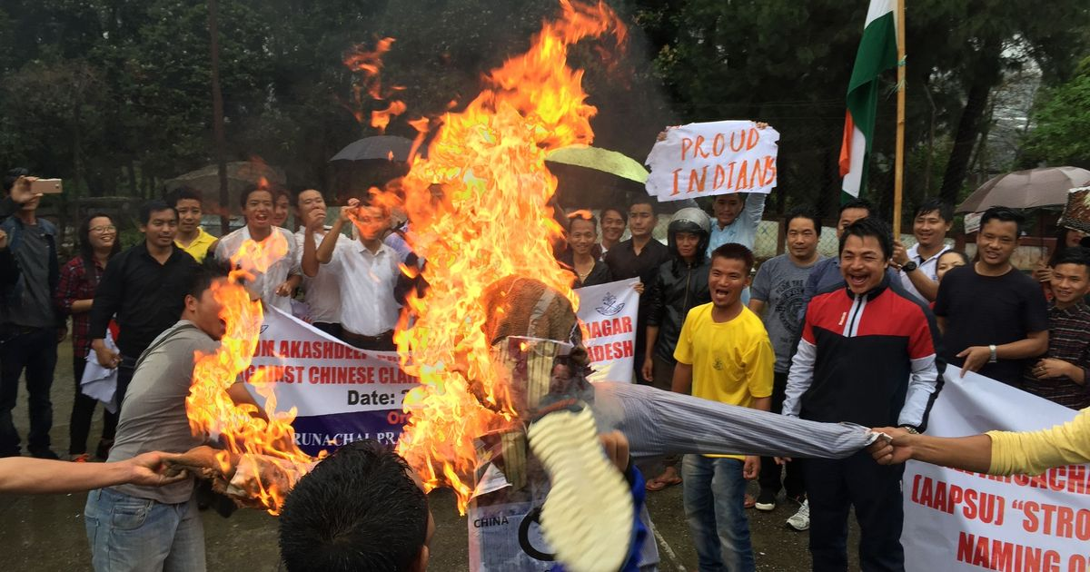 'We are not Chinese': Arunachal students protest China's move to rename parts of the state