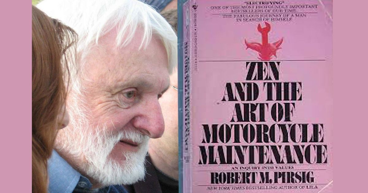 zen and the art of motorcycle maintenance book cover