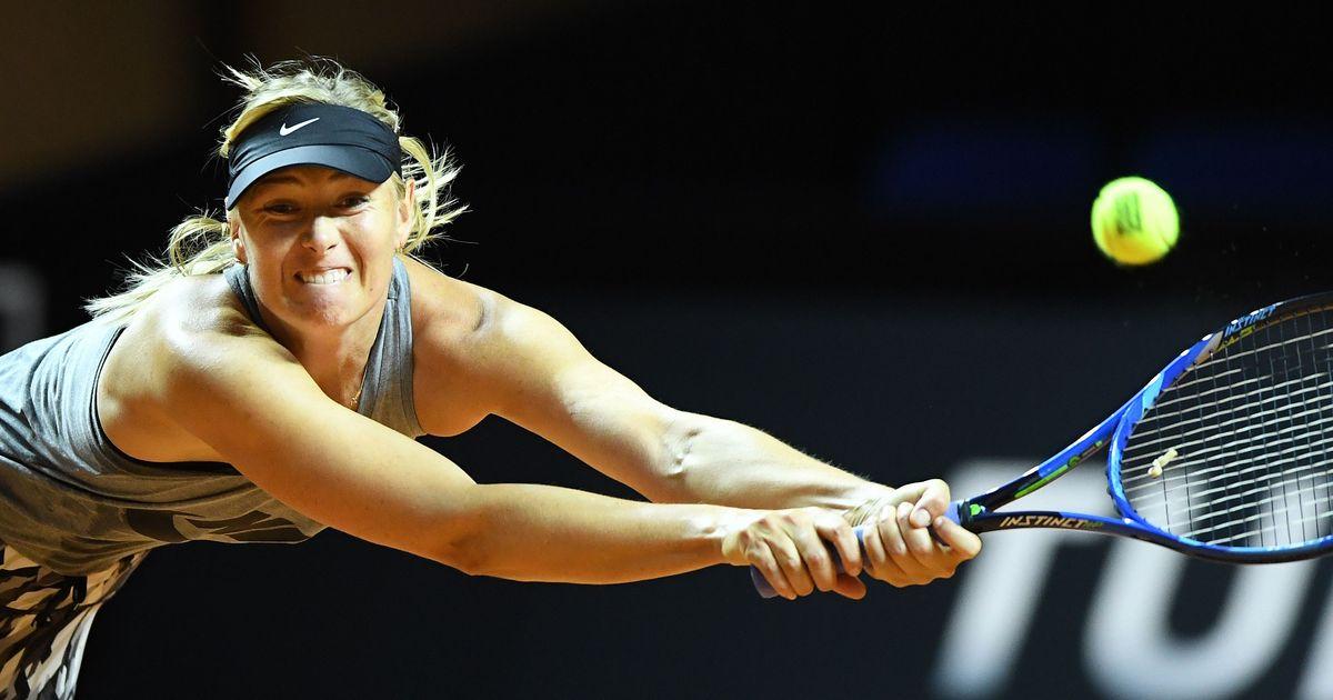 Maria Sharapova beats Roberta Vinci in return from doping ban