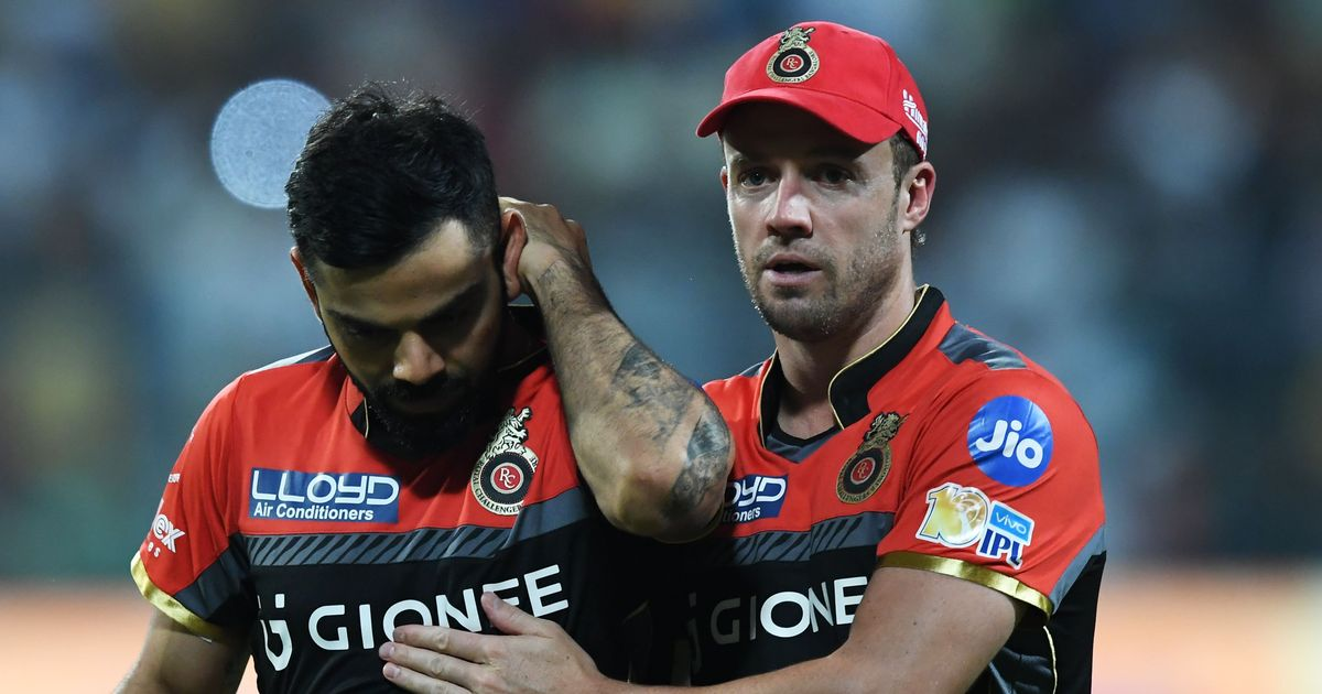 IPL: Over-dependence on Virat Kohli and AB de Villiers continues RCB's title drought