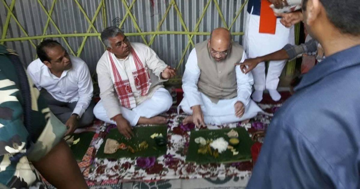 दलितों के घर नेताओं के भोजन को भाजपा सांसद द्वारा दिखावा बताने सहित आज की प्रमुख सुर्खियां