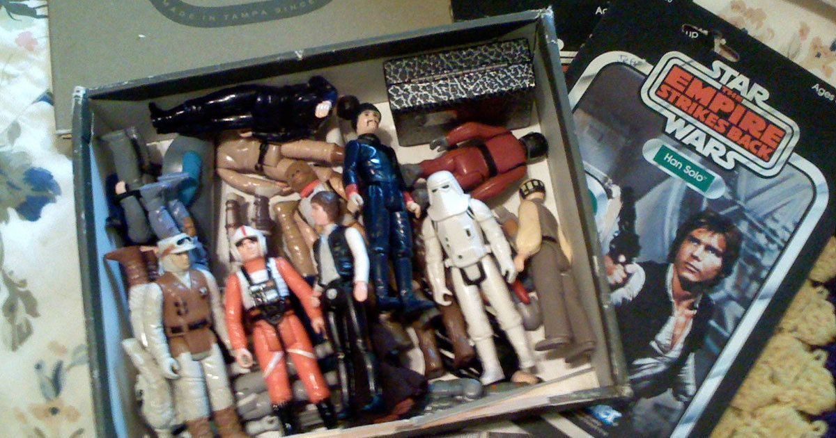 The hidden legacy of the 'Star Wars' movies: the toy collection