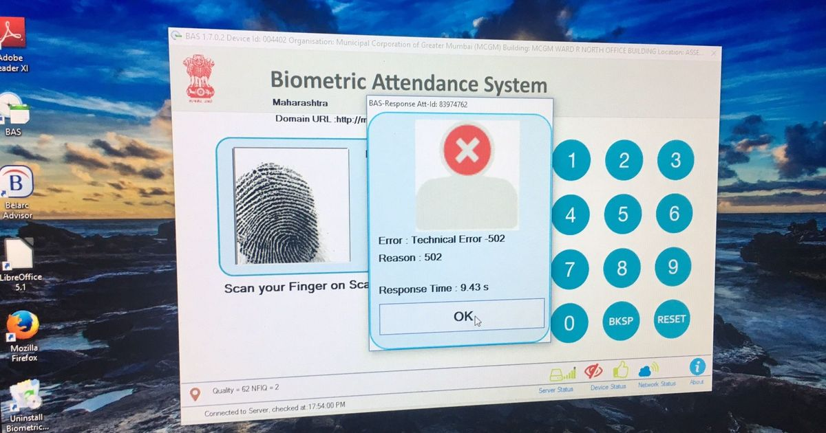 Long queues, snags as government offices and hospitals in Mumbai link attendance, salary to Aadhaar