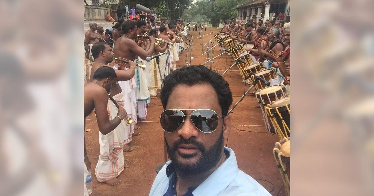 'A lifelong dream': Oscar-winning Resul Pookutty records Kerala's grand temple festival sounds