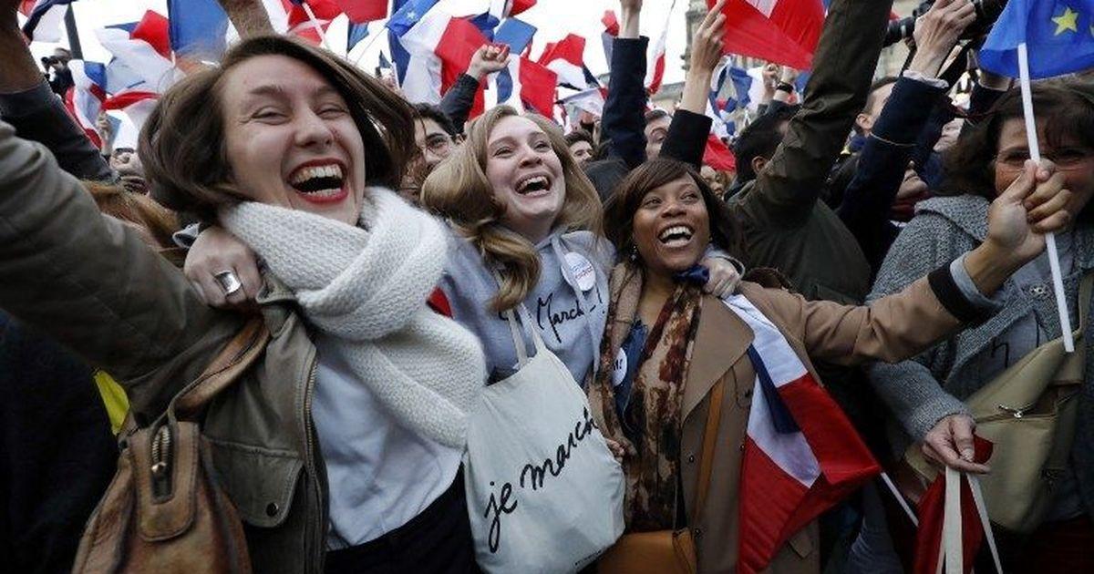 法国大选马克龙胜出 成法国史上最年轻总统 - 纽约文摘 - 纽约文摘