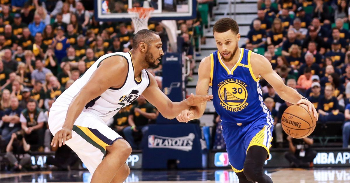 Curry leads Warriors in sweeping Jazz