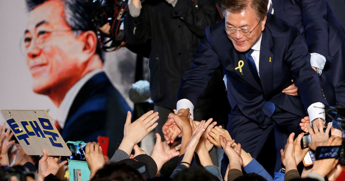 Moon Jae-in elected President of South Korea after landslide election victory