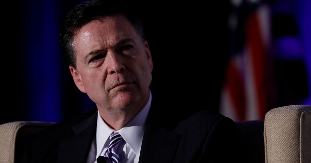 Ex-FBI Director Comey thought his firing was a 'prank'