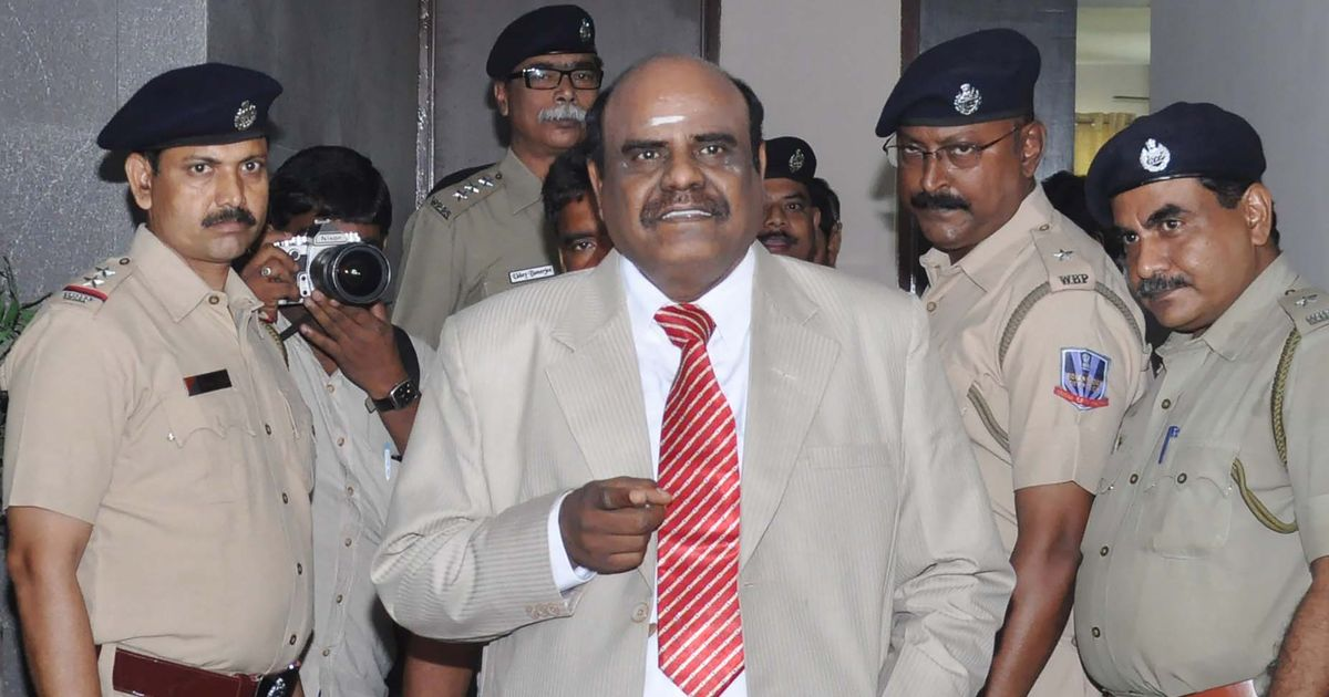 Supreme Court calls Justice Karnan's attempts to forcibly enter retired judge's house unfortunate