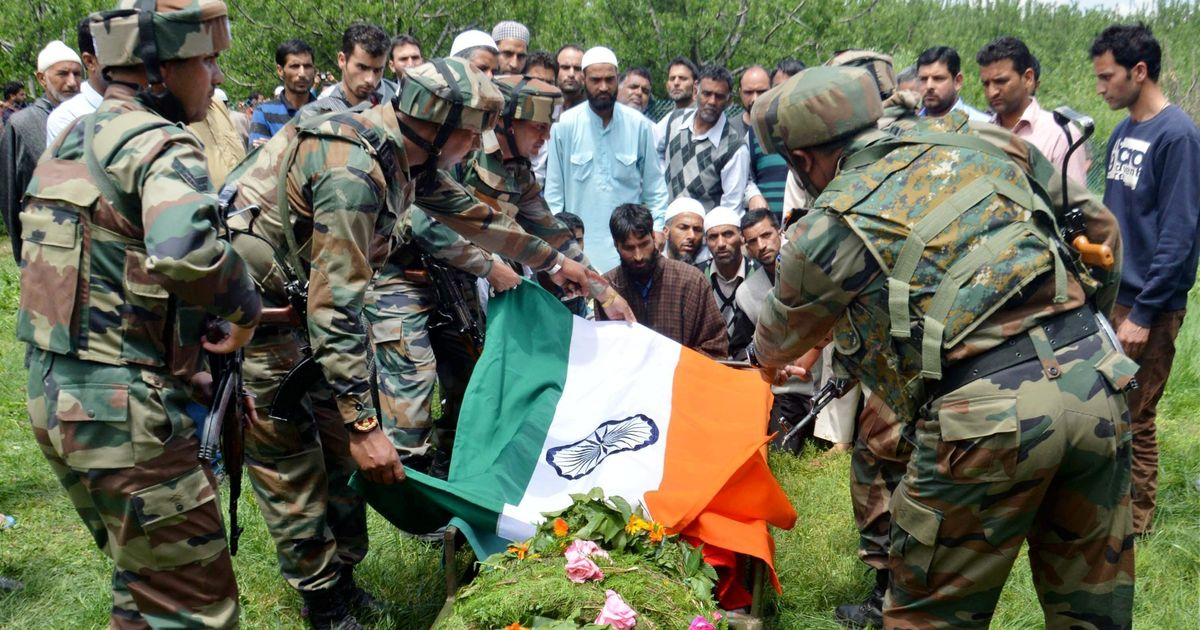 'How can we say who it was? They were all masked': Despair in Shopian after Army officer's killing